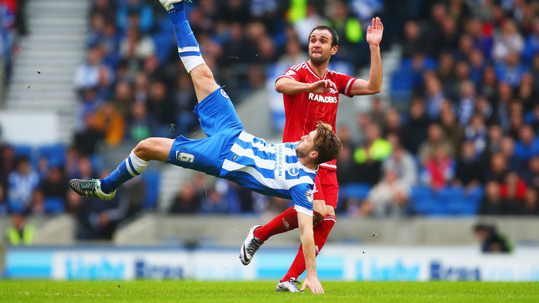 Middlesbrough – Brighton