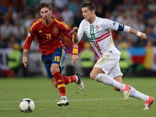 Portugal vs Spanien World Cup 15.06.2018